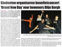 Benefietconcert Brand New Day